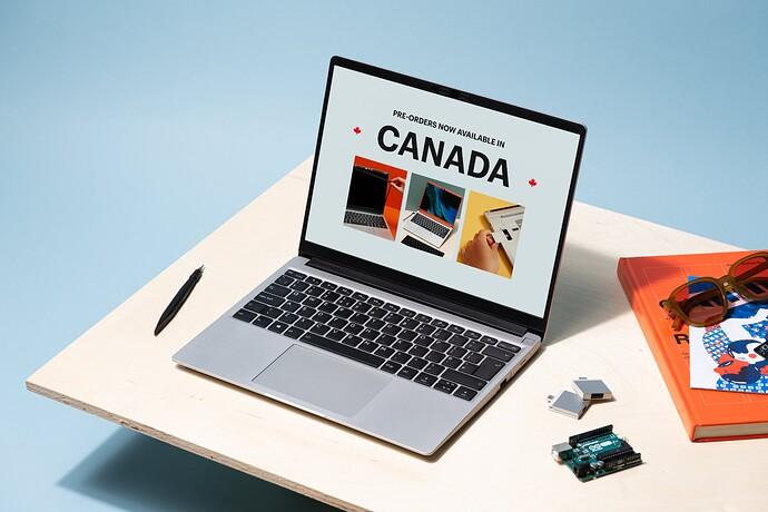 Framework Laptop on desk