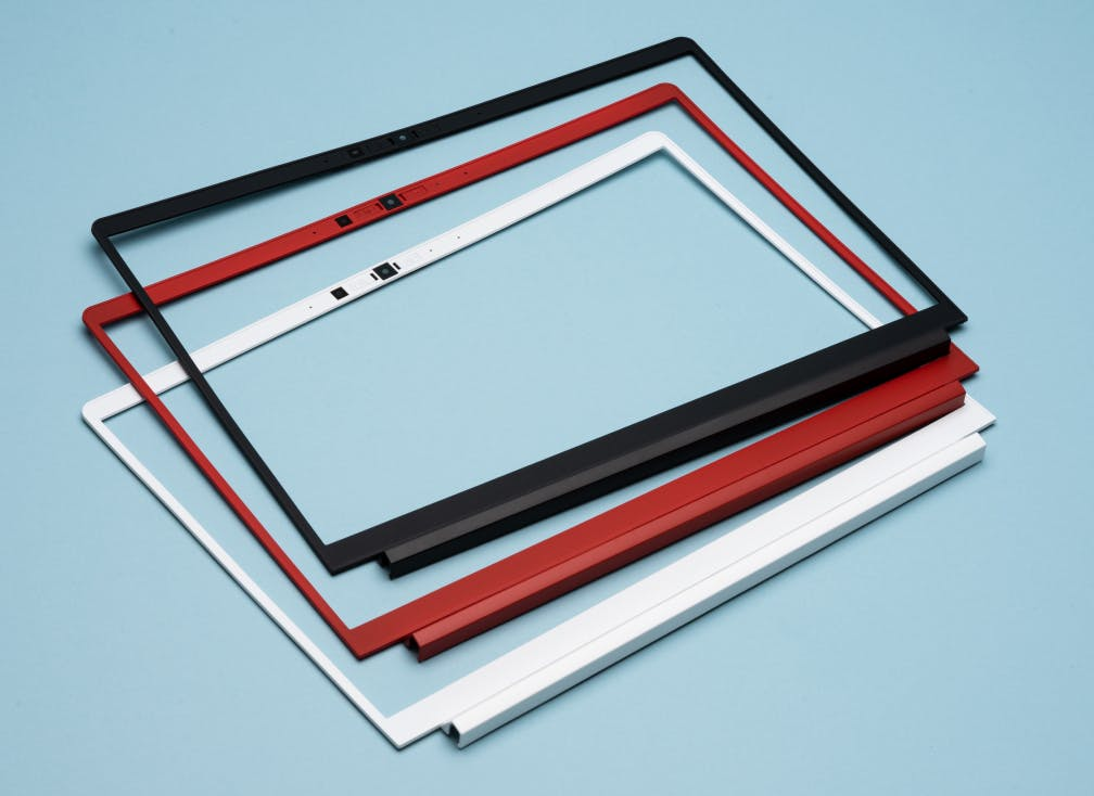 variety of colored bezels